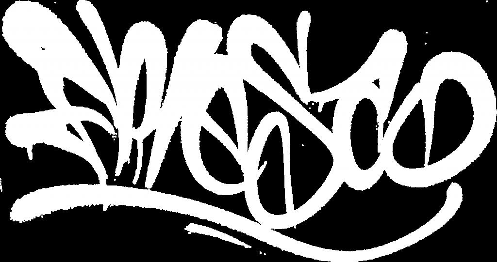 FRESCO graffiti artist tag bianca
