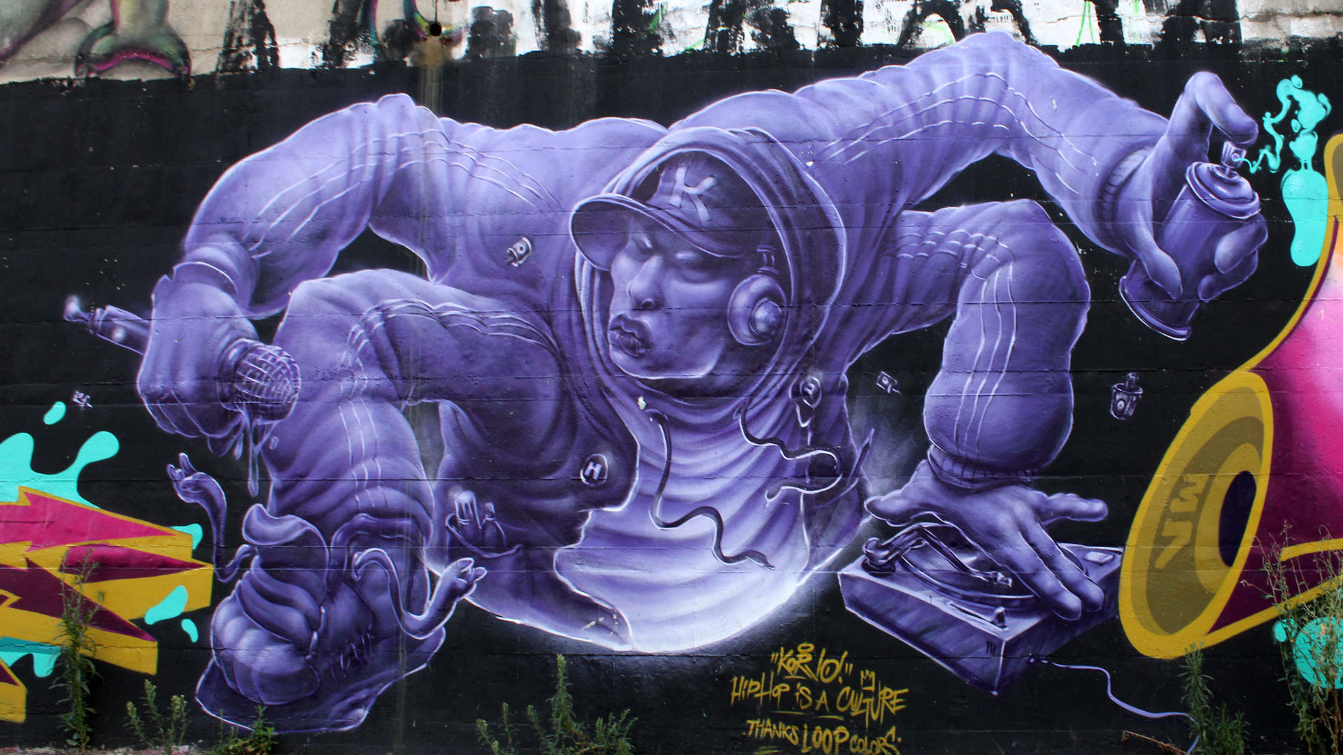 Korvo 4 discipline hip hop graffiti