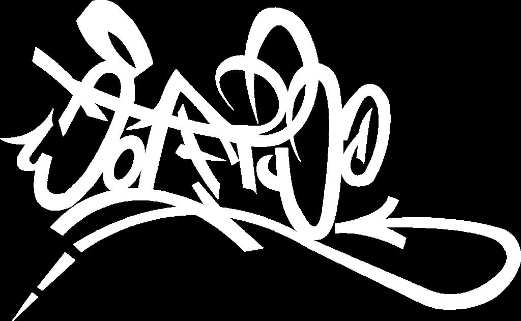 WOLFTWO graffiti artist tag bianca