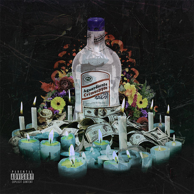 Crimeapple x Big Ghost - Aguardiente copertina album