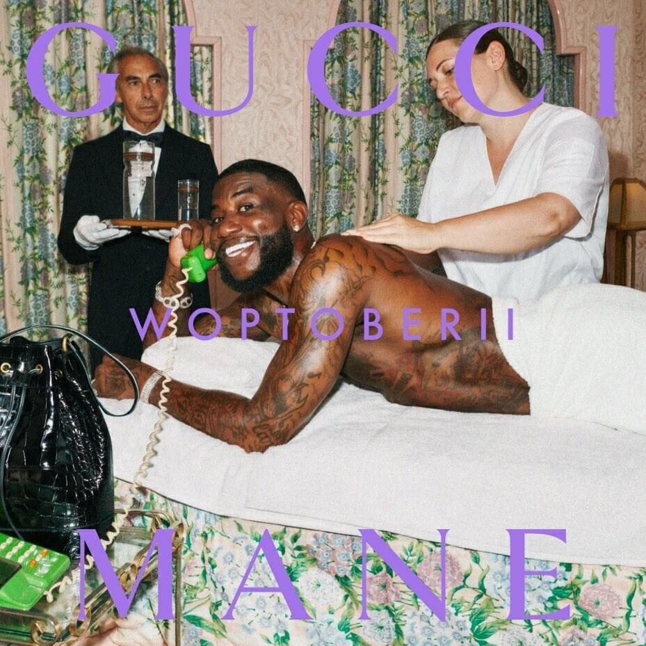 Gucci Mane - Woptober 2 copertina album