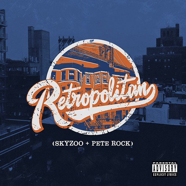 Skyzoo + Pete Rock - Retropolitan copertina album
