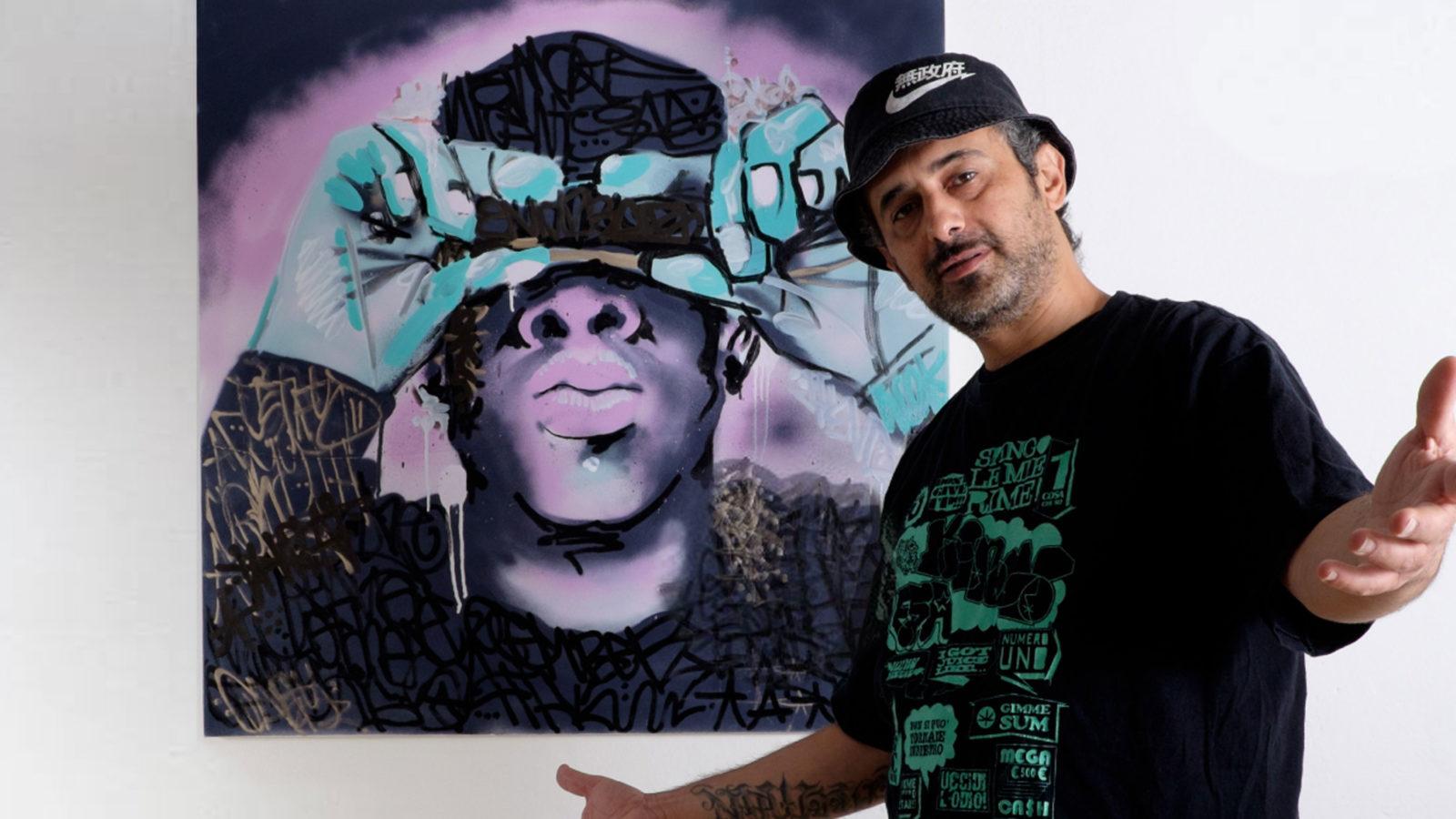 """Esa aka El Crespo - Mostra """"Tributes"""" - Esa con Jay Z"""