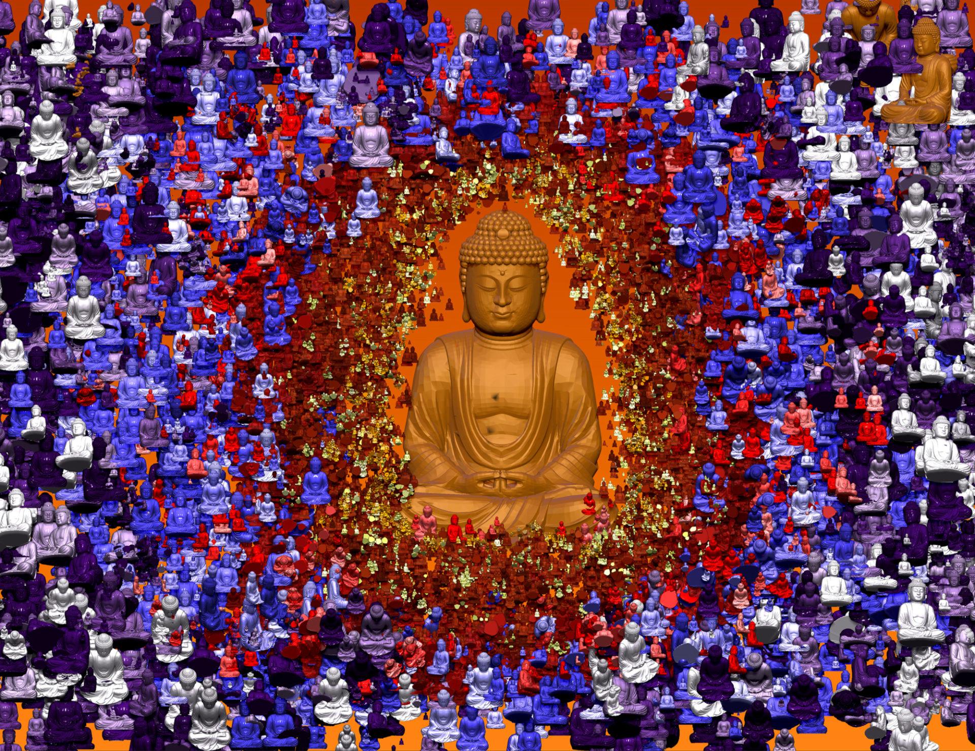 Buddah Texture - Extreme Meditation