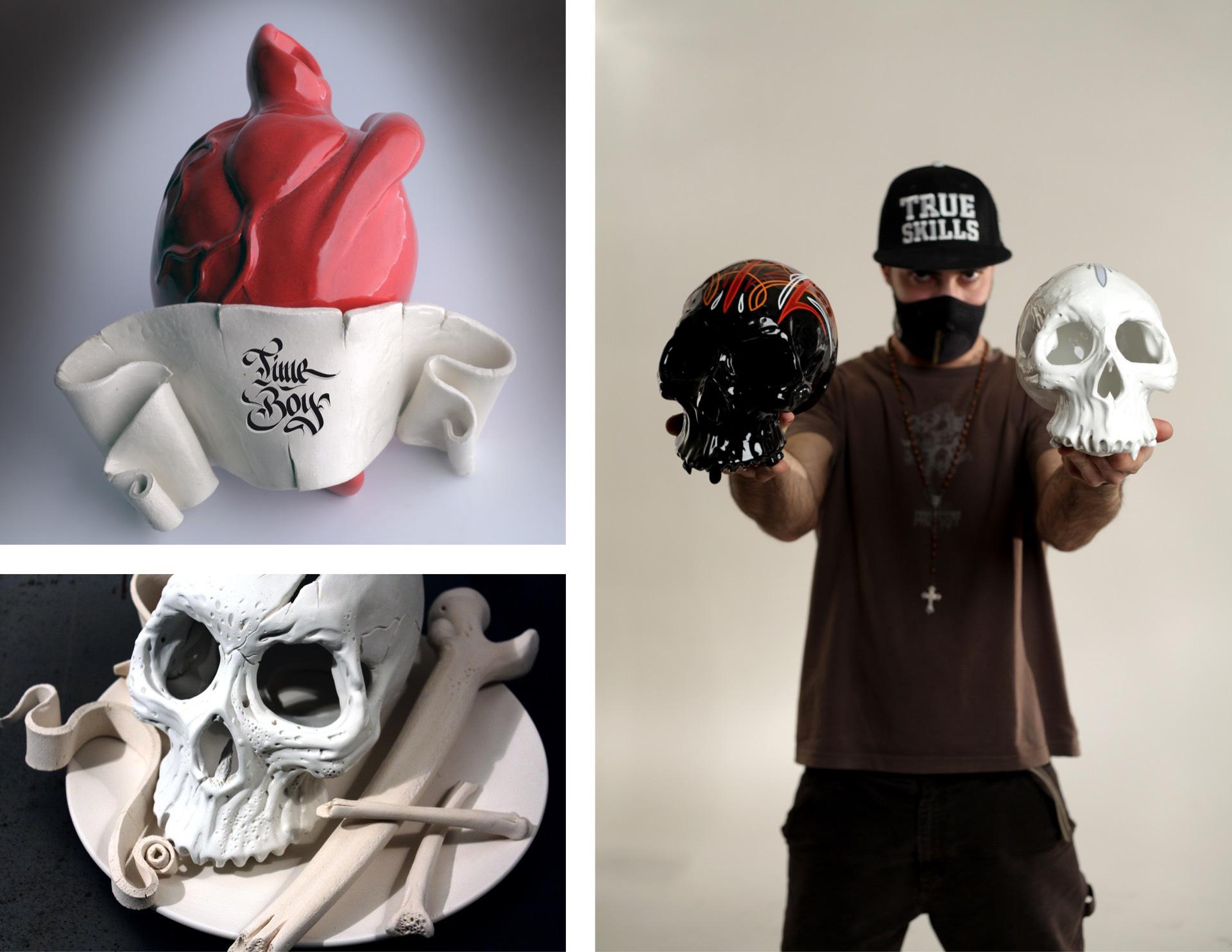 Impo BN sculture