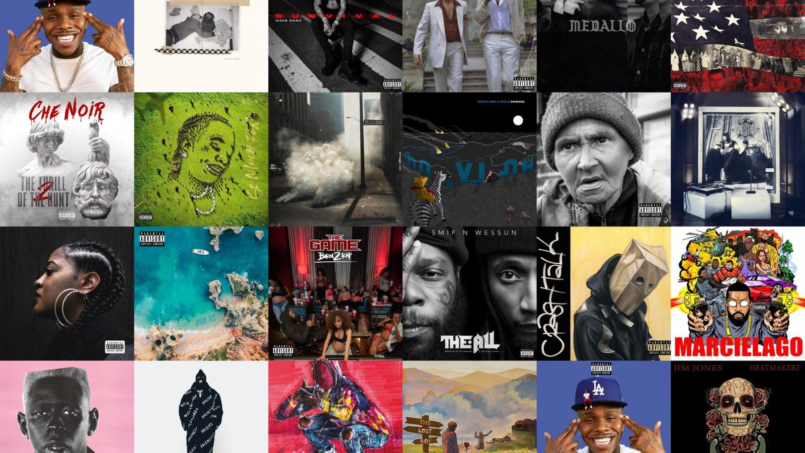 Top 25 Hip Hop Album 2019