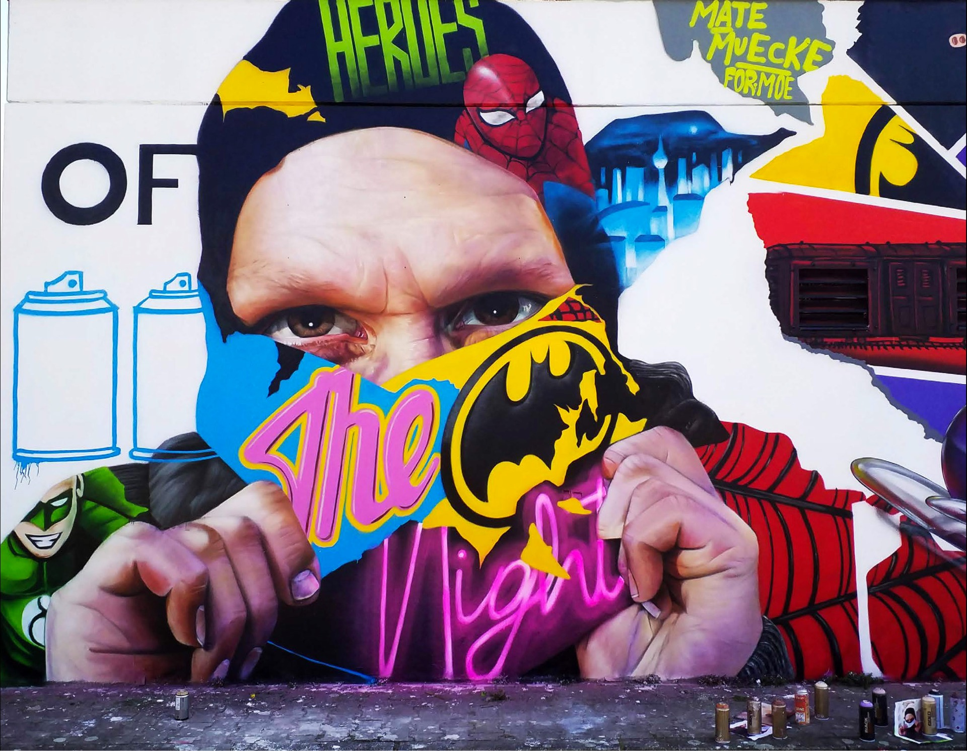 Heroes of the Night - Berlin, 2019