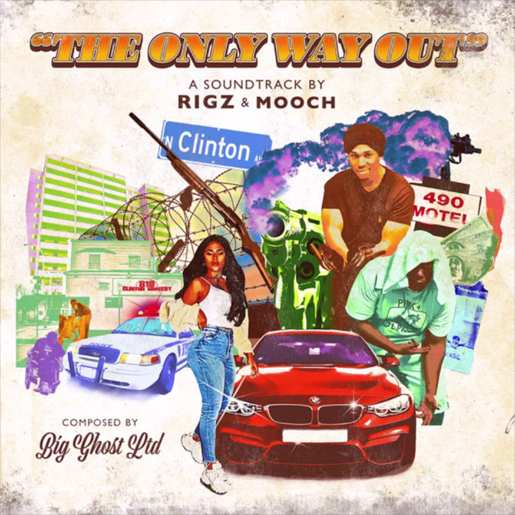 "Rigz & Mooch x Big Ghost Ltd.- ""The Only Way Out"" Recensione album"