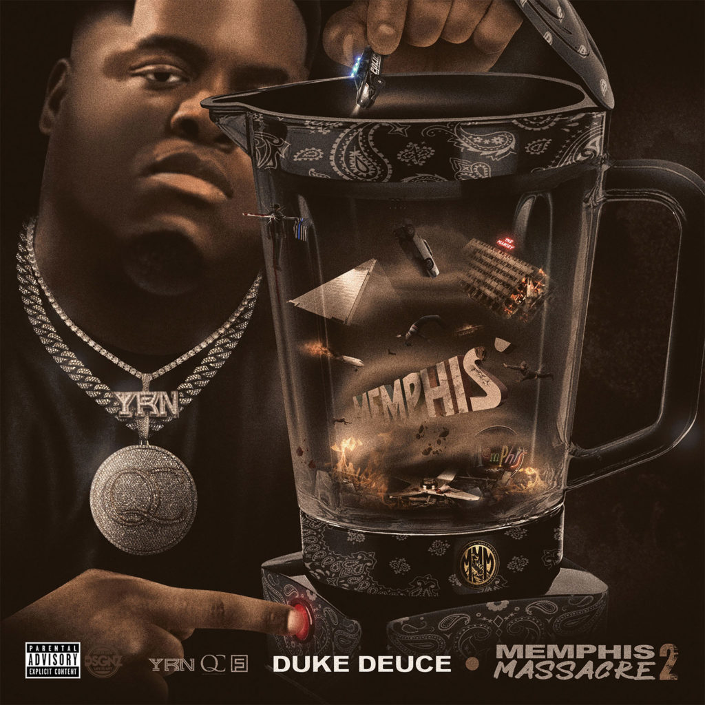 Duke Deuce - Memphis Massacre 2 Album Cover