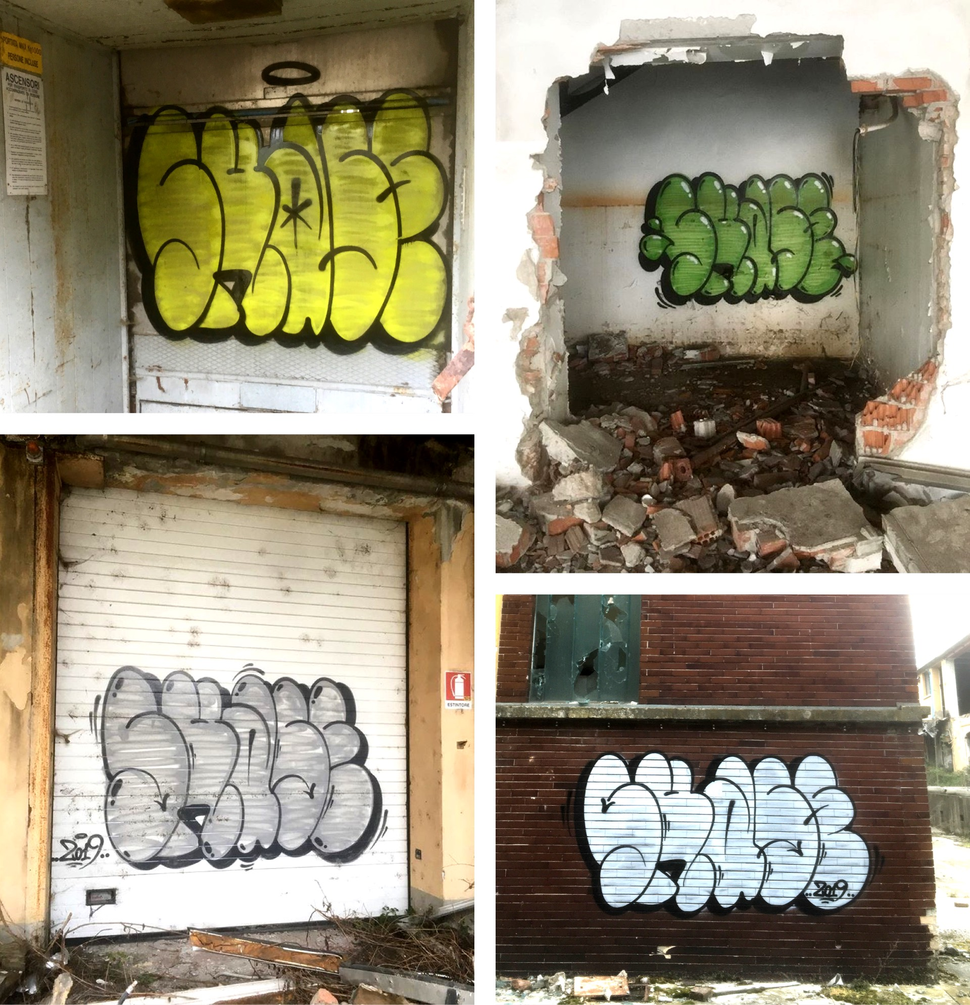 Throwups by Skase