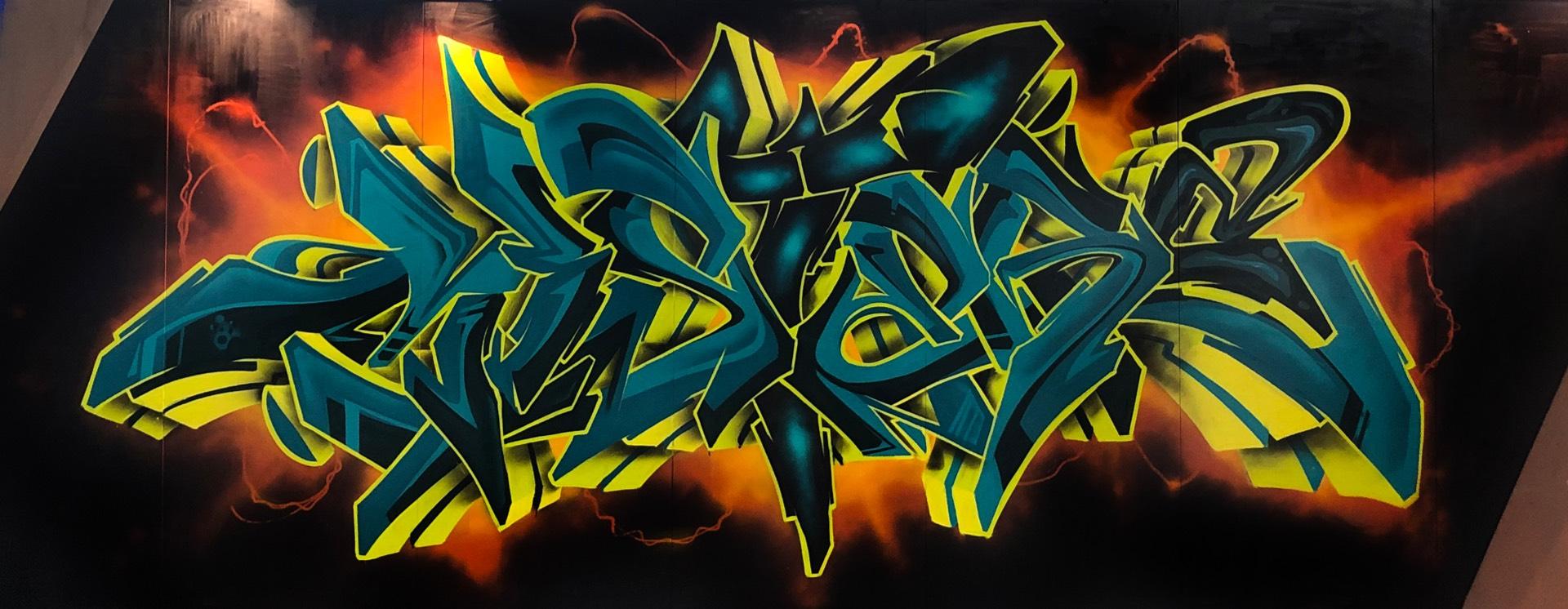 Mister Acker wildstyle graffiti Palermo