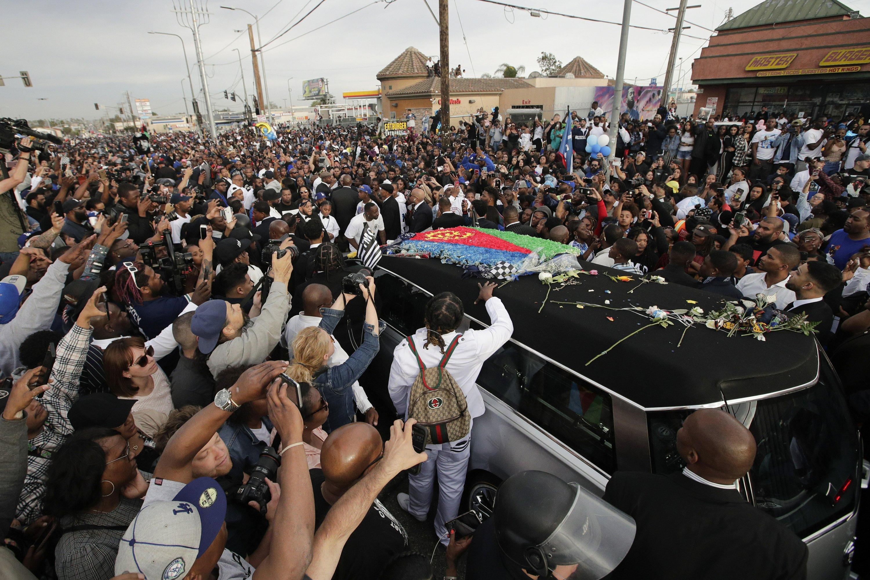 Funerale di Nipsey Hussle, Crenshaw, Los Angeles