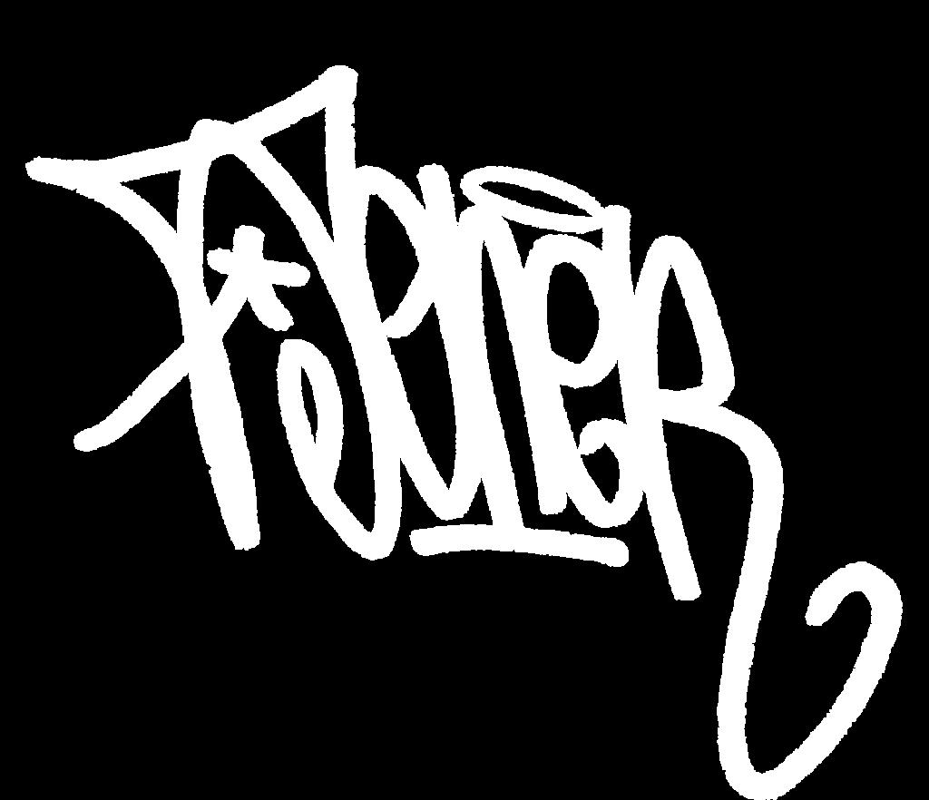 Toner graffiti tag