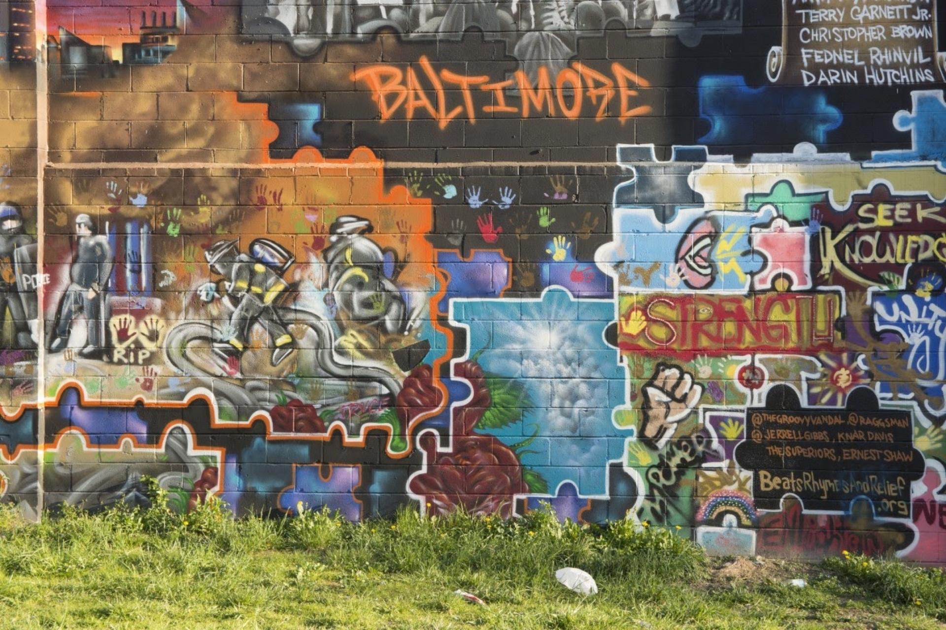 Graffiti in Baltimore
