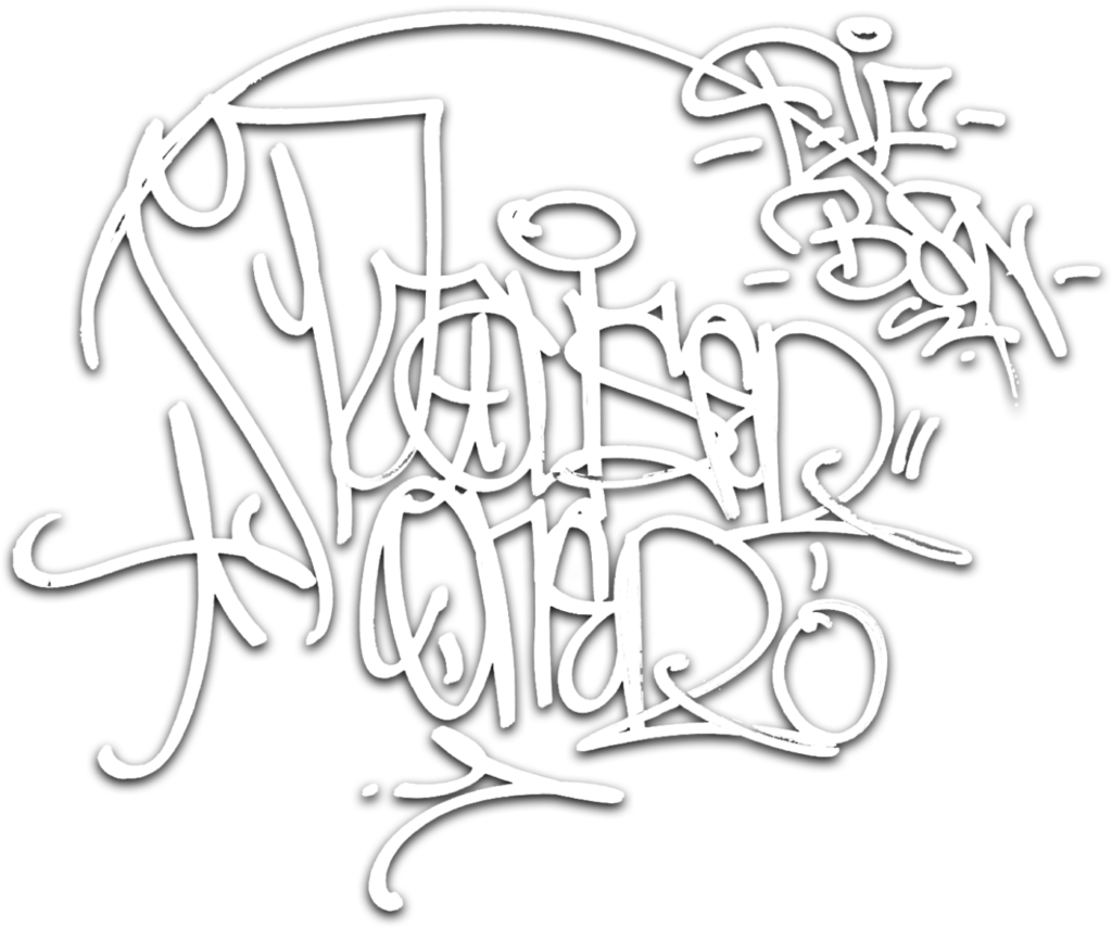 Pauser Graffiti Tag White