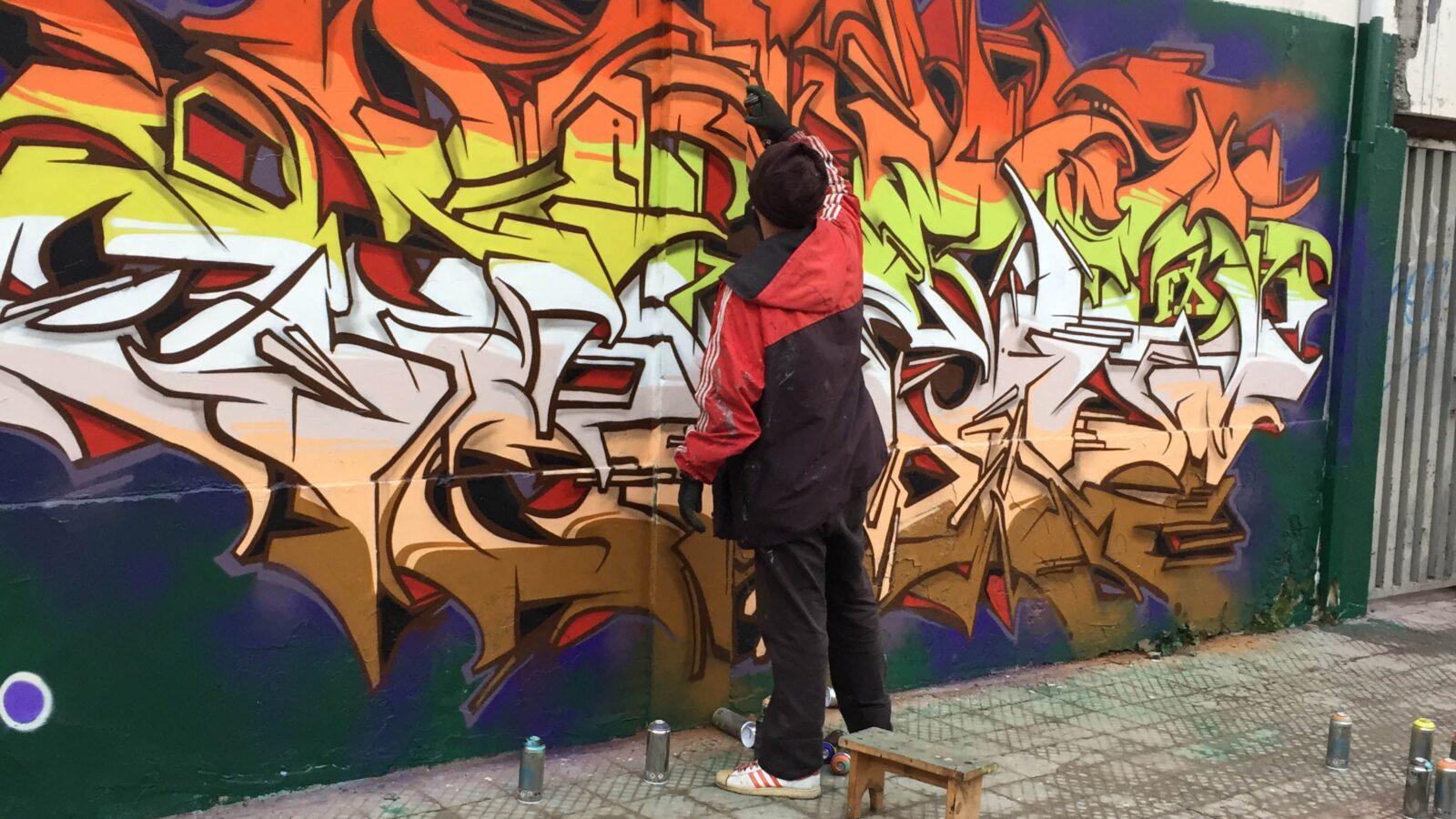 Does1, intervista ad un pioniere brasiliano dei graffiti.